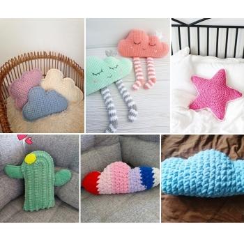 Пледы и подушки