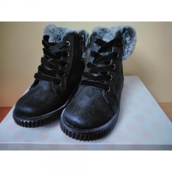 Ботинки утепленные на 4 года