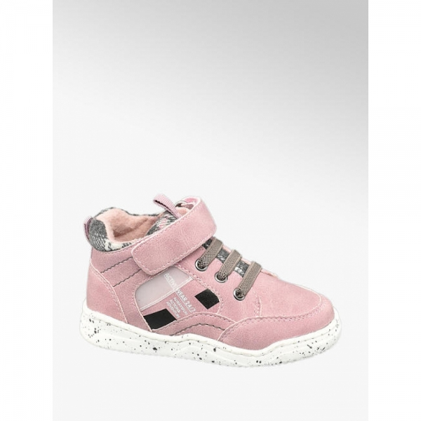 Ботинки розовые