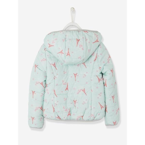 Куртка на девочку двусторонняя на весну/осень