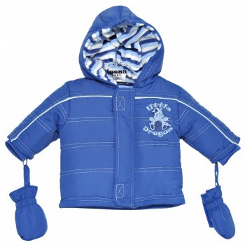 Куртка с варежками