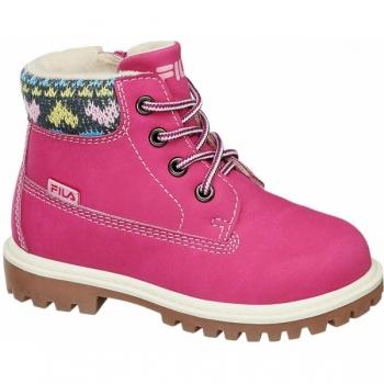 Ботинки утепленные розовые (Германия)