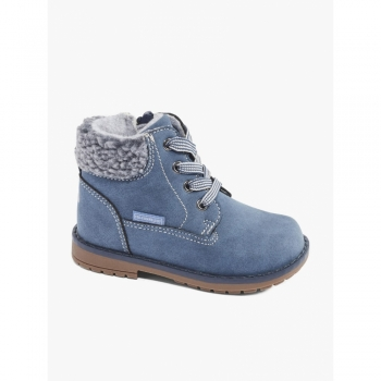 Ботинки деми синие