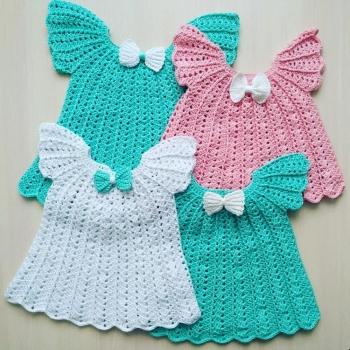 Платье вязаное Катенька