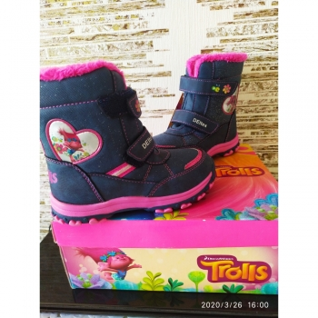 Ботинки  для девочки Trolls